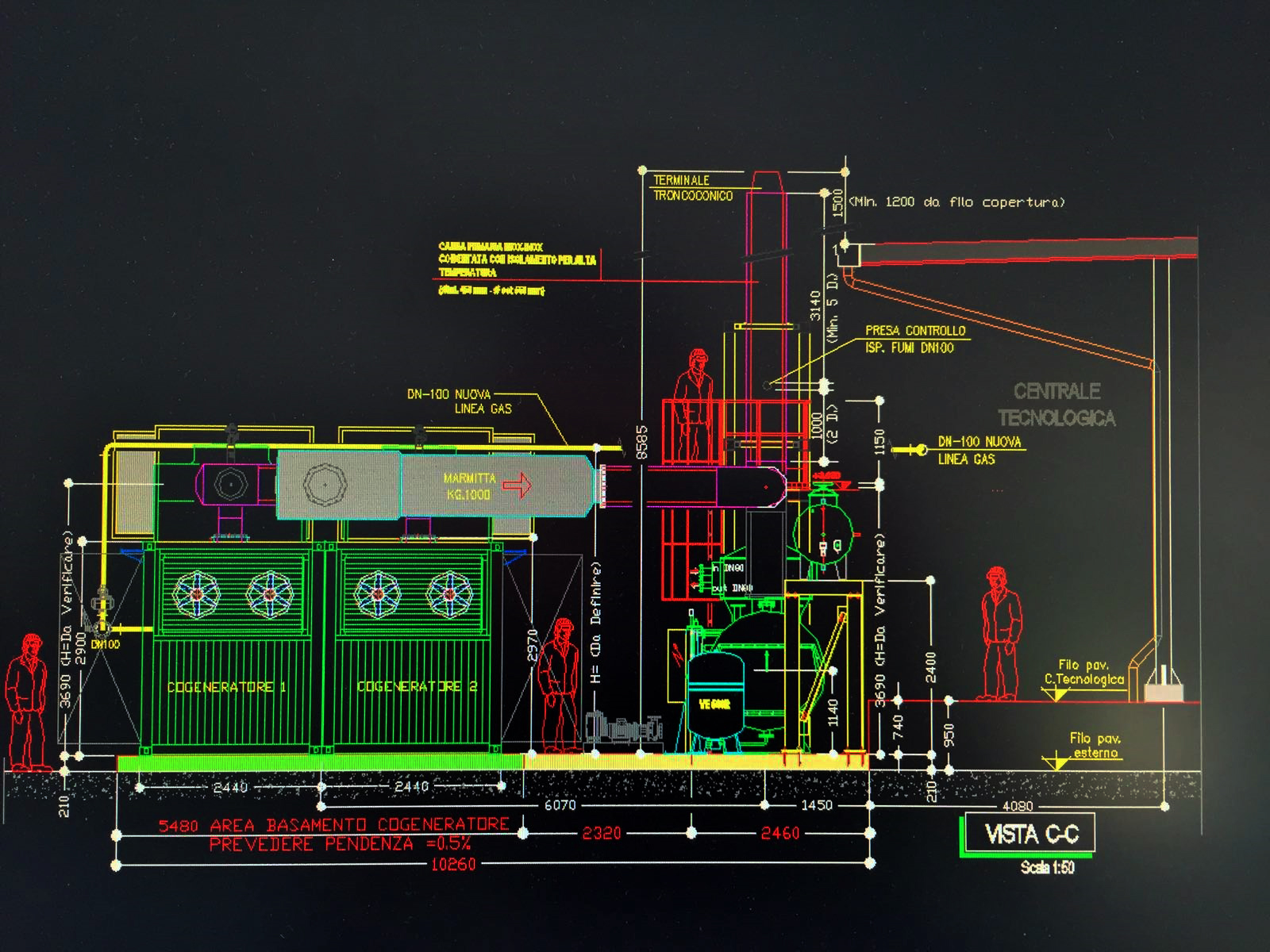 Cogeneration And Trigeneration Plants Engine Diagram